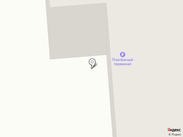 Мотылёк на карте Бачатского