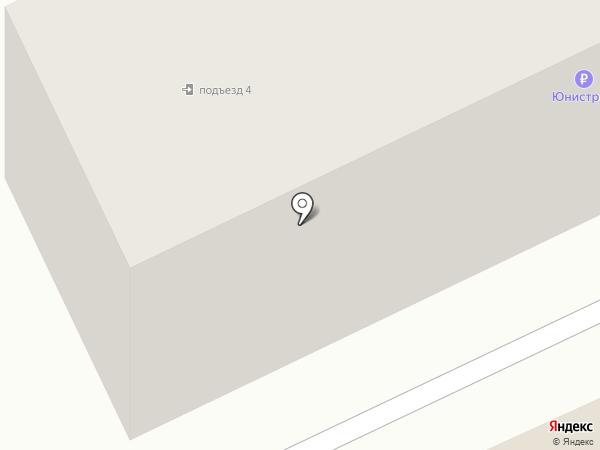 Почтовое отделение связи на карте Бачатского