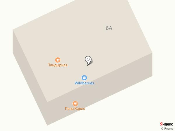 Всё здесь на карте Бачатского