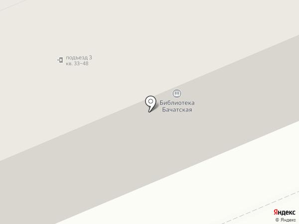 Папа Карло на карте Бачатского