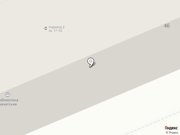 Юлия на карте Бачатского