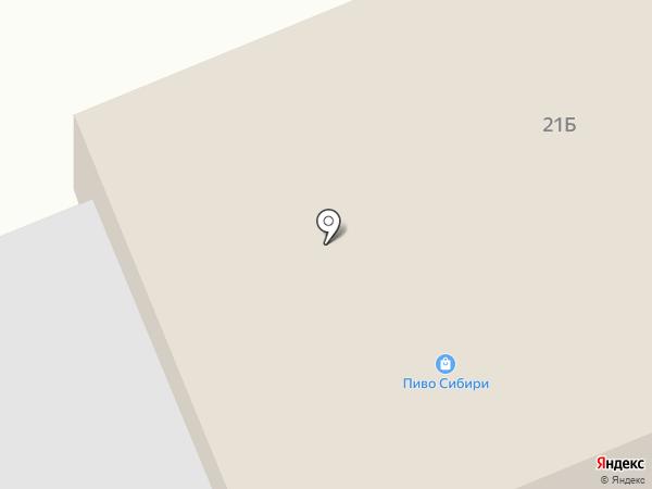 Калина на карте Бачатского