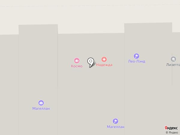 Полнолуние на карте Кемерово