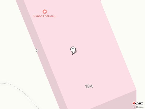 Скорая медицинская помощь на карте Бачатского