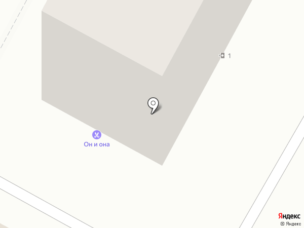 Он и Она на карте Кемерово