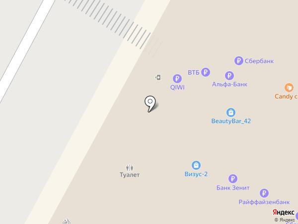 Картина-Хобби на карте Кемерово