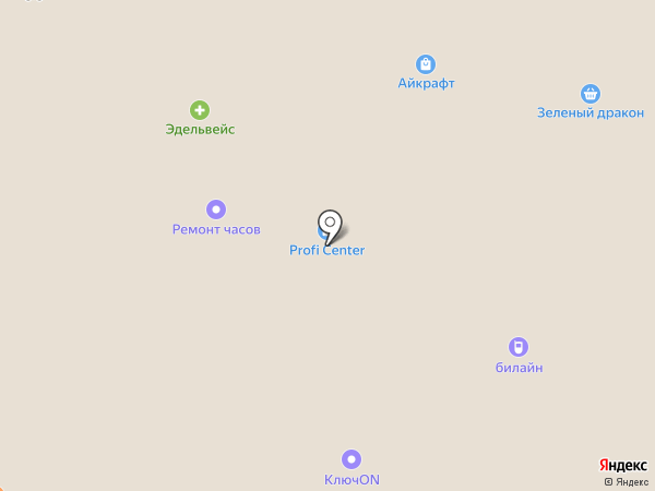 Profi Center на карте Кемерово