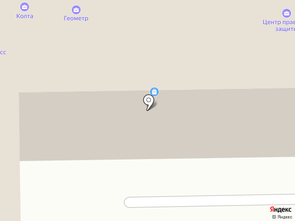 Колта, ЗАО на карте Кемерово