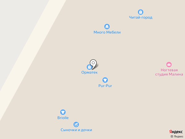 Орматек-Сибирь на карте Кемерово