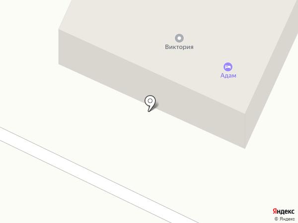 Адам на карте Кемерово