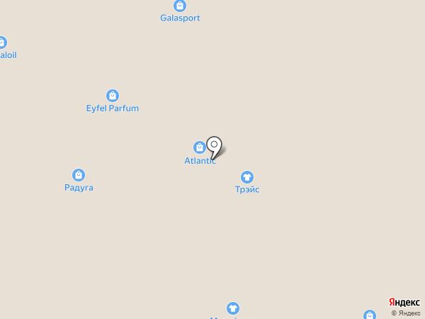 Atlantic на карте Кемерово