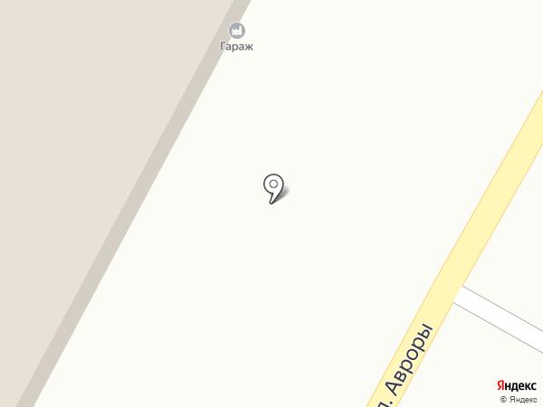 Гараж на карте Кемерово