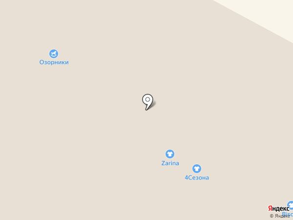 Топтыжка на карте Кемерово