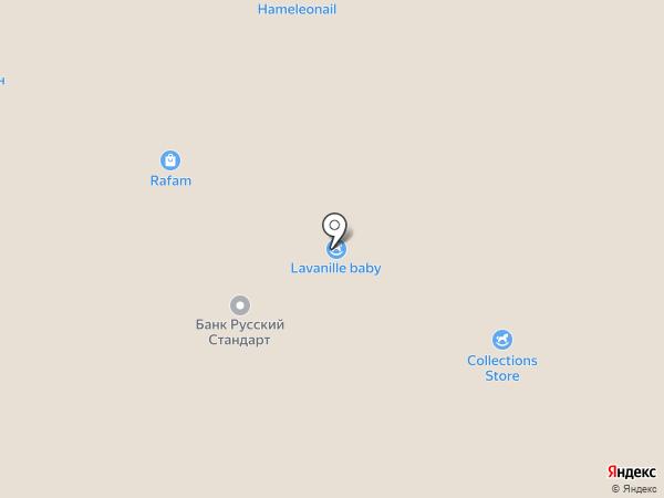 Бутик товаров для новорожденных на карте Кемерово