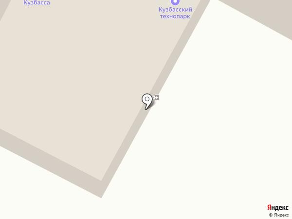 Кузбасспроект на карте Кемерово