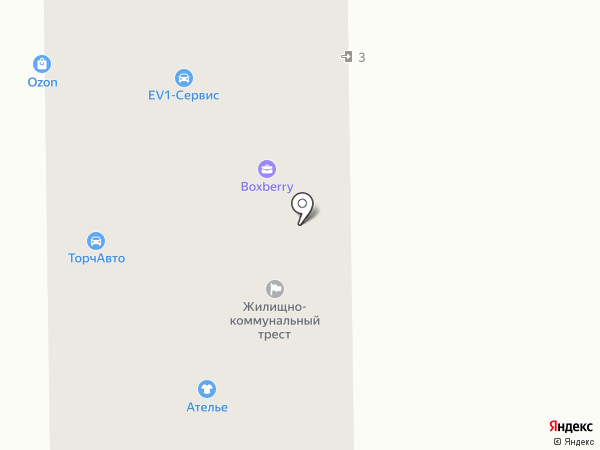 Служба по отогреву автомобилей и автопомощи на дороге на карте Кемерово