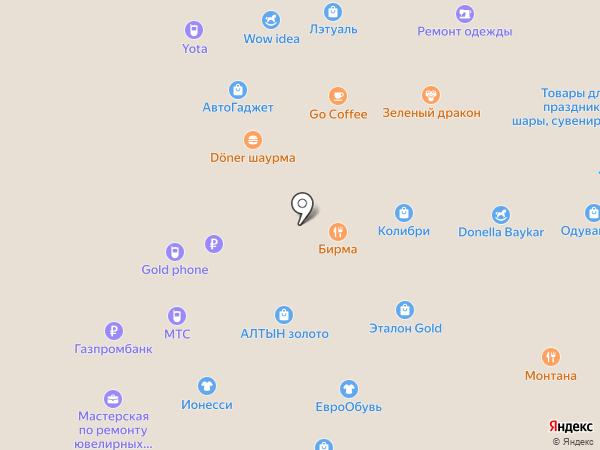 Сто извилин на карте Кемерово