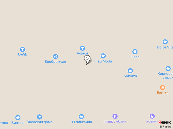 4 Сезона на карте Кемерово