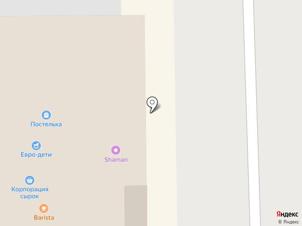 Клумба на карте Кемерово