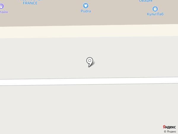 Элегант на карте Кемерово