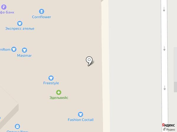 Сеть цветочных салонов на карте Кемерово