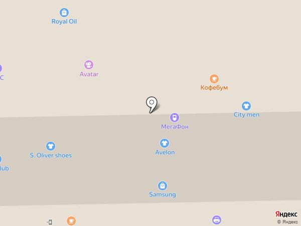 Магазин игрушек и товаров для праздника на карте Кемерово