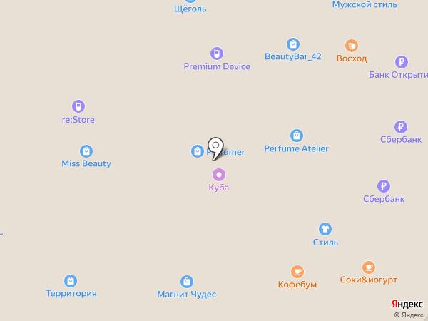 БЕЗДАТЫ на карте Кемерово
