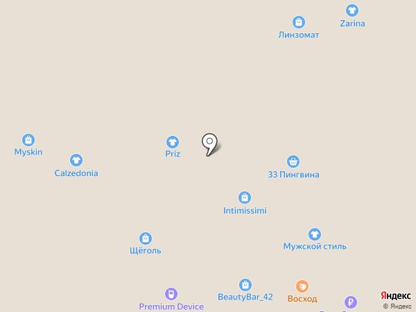 Belwest на карте Кемерово