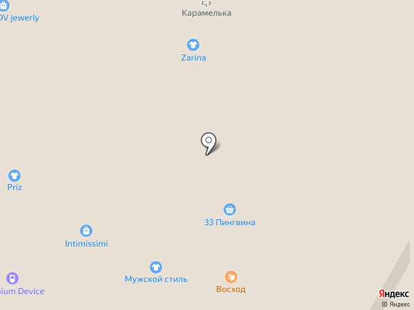 Джунгли на карте Кемерово