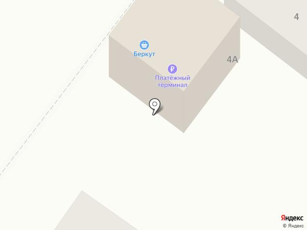 Беркут на карте Ленинска-Кузнецкого