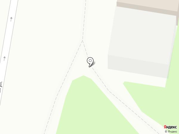 Дарница на карте Ленинска-Кузнецкого
