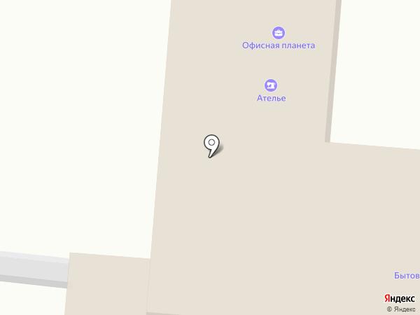 Ателье на площади Кирова на карте Ленинска-Кузнецкого
