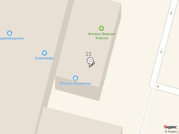 Элифант на карте Ленинска-Кузнецкого