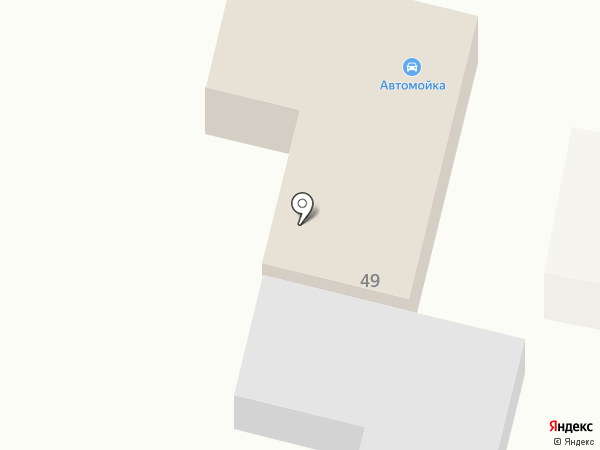 Автомойка на Партизанской на карте Ленинска-Кузнецкого