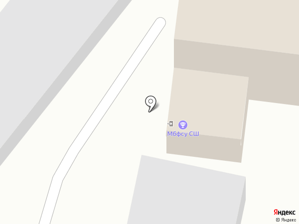 ДЮСШ на карте Ленинска-Кузнецкого