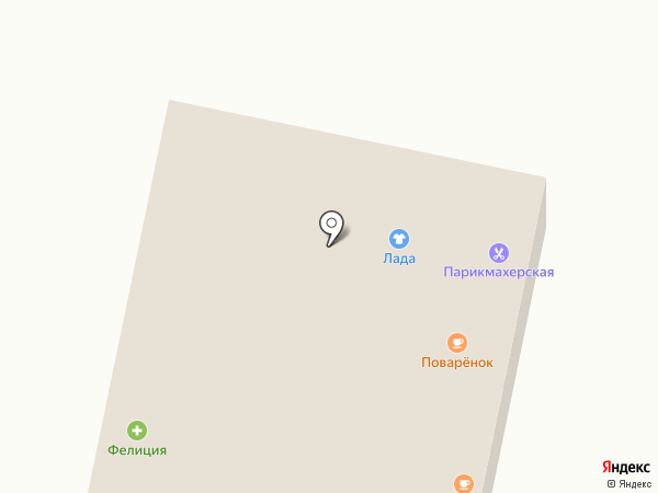 Лада на карте Ленинска-Кузнецкого