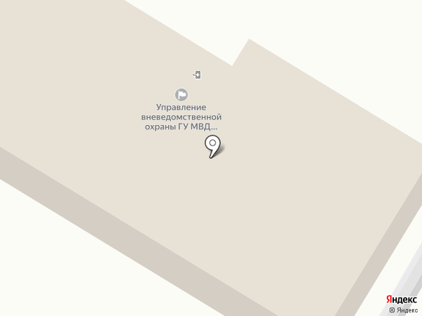 ФГКУ Управление вневедомственной охраны войск национальной гвардии РФ по Кемеровоской области на карте Ленинска-Кузнецкого
