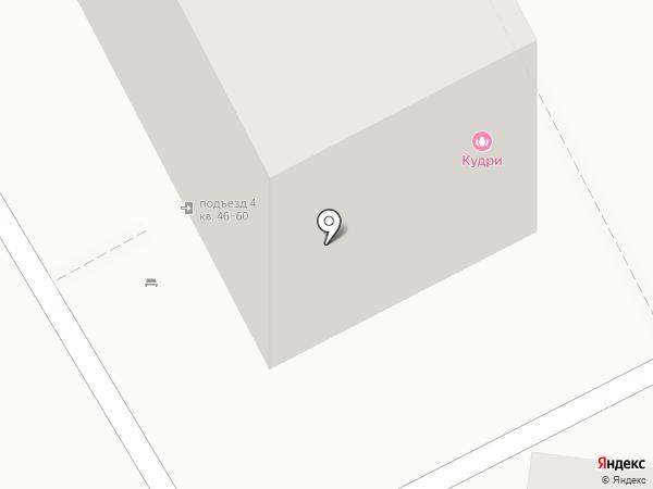 Кудри на карте Кемерово