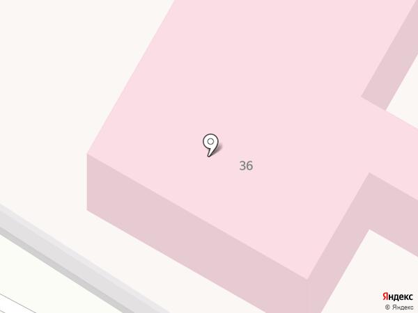 Скорая медицинская помощь на карте Ленинска-Кузнецкого
