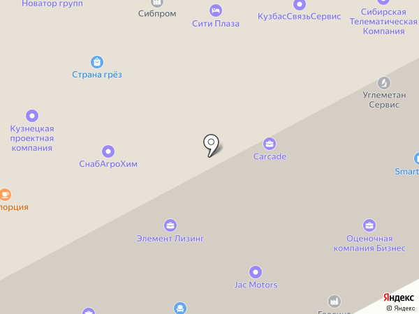 Регион Консалтинг на карте Кемерово