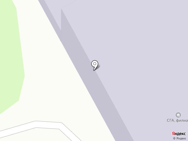 Дом у реки, АНО на карте Кемерово