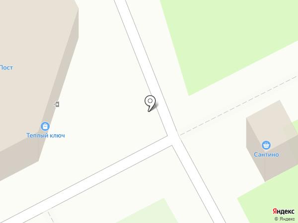 Чистюля на карте Кемерово