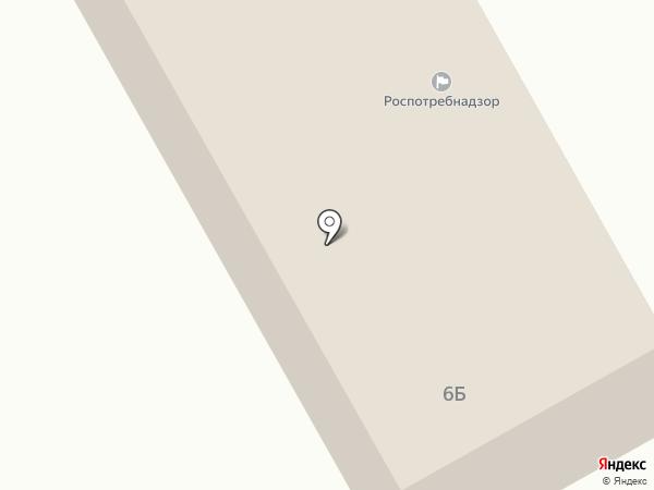 Территориальный отдел Управления Роспотребнадзора по Кемеровской области в г. Ленинск-Кузнецком на карте Ленинска-Кузнецкого