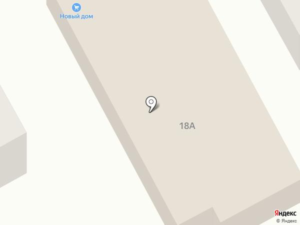 Новый дом на карте Ленинска-Кузнецкого