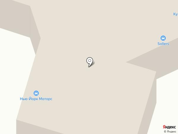 Форд Транзит Кузбасс на карте Кемерово