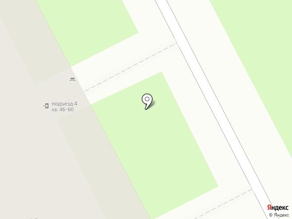 Белая сова на карте Кемерово