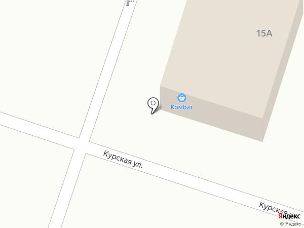 Комбат на карте Ленинска-Кузнецкого