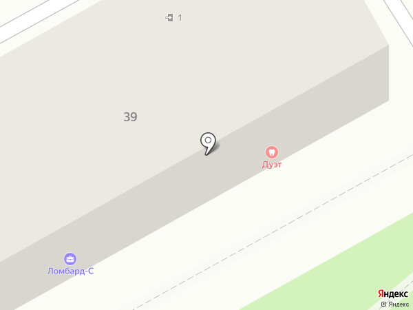 Дуэт на карте Ленинска-Кузнецкого