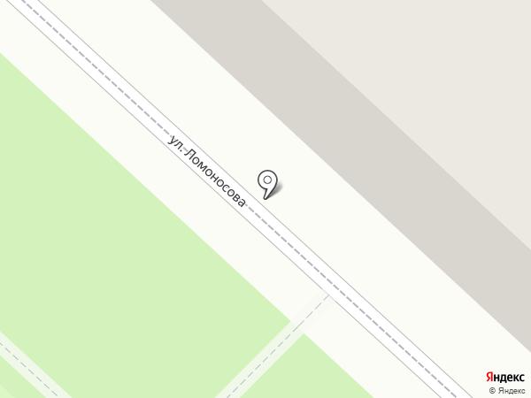 Продуктовый магазин на карте Ленинска-Кузнецкого