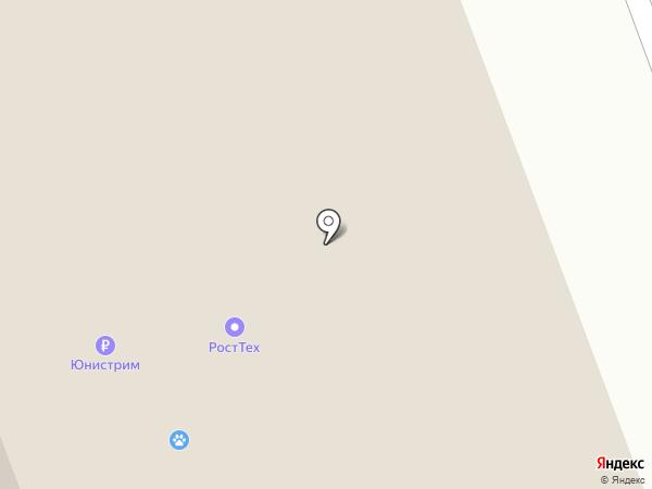 Почтовое отделение на карте Дудинки
